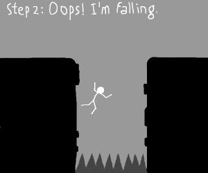 Step 1: Dont die this step game