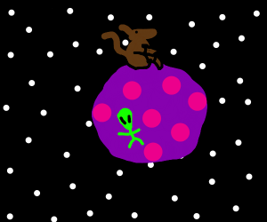 Kangaroo on an Alien Planet