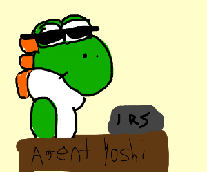 Yoshi is an IRS agent