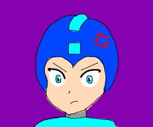 Angry Megaman