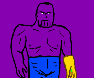 thanos except he's hot