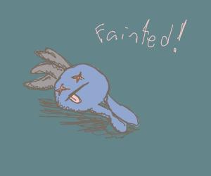 Oddish fainted