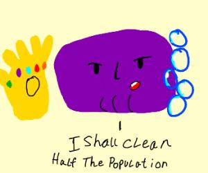 Thanos soap