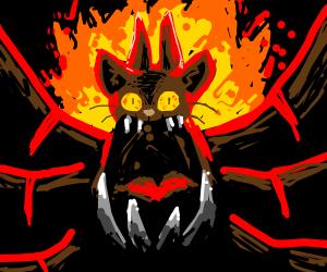 the almighty demon cat