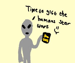 Alien Gifts Humans StarWars