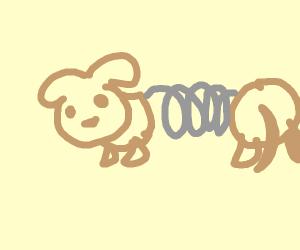 slinky doggo