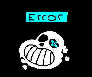 error sans