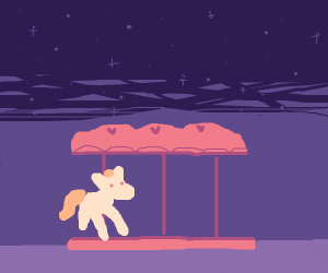 Midnight carousel ride
