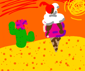 Dessert (or) Desert