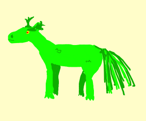 Grinch the horse