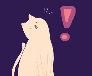 oh look, a cat