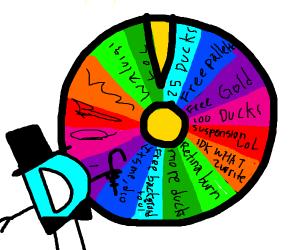 The Wheel of Drawception! (Wheel of fortune)
