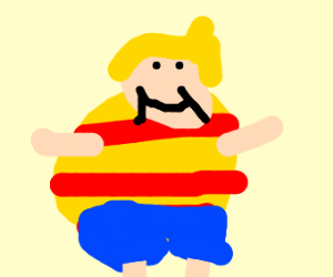 Buff shiny Lucas (Earthbound