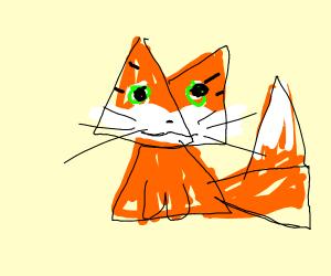 fox made of doritos