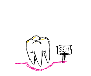 Tooth sale