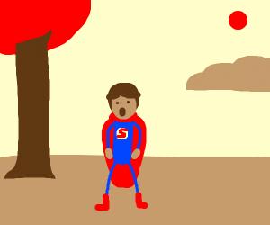 Its superman!
