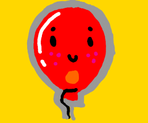a red baloon