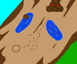 map to poopland