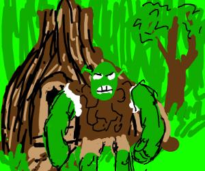 Shrek is very very angry