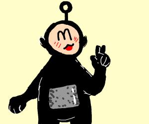 black teletubby