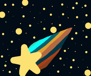 Space star tail