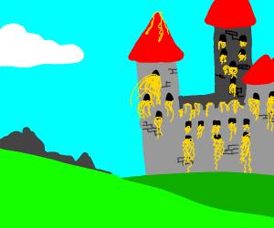 Noodles in a Castle