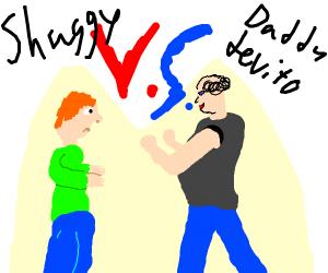 Ultra Instinct Shaggy vs. Danny Devito