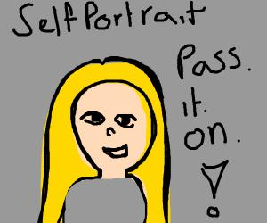 self portrait pass.it.on.