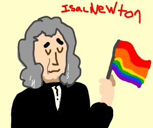 Isaac Newton was gay