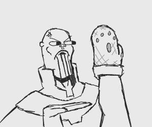 Thanos doesn't like his Infinity Mitten