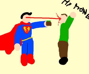 Superman Mugs A Man And Kills Him