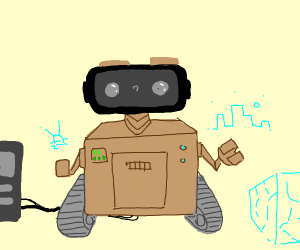 Wall-E's reality can be whatever he wants