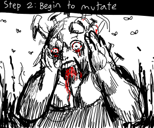 Step 1: chug anesthetic