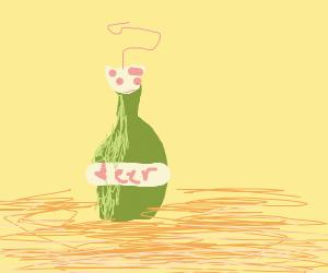 Rat in a beer