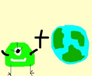 alien planet (literally)