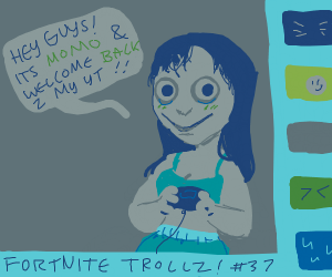 momo is a youtube gamer girl
