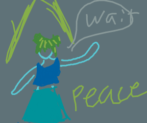 Girl blessed with peace says wait