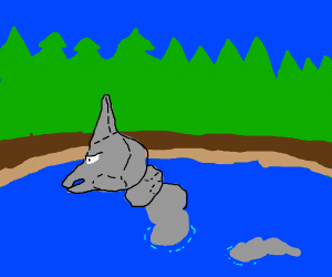 onix in a lake
