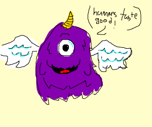 OneEyed OneHorned flying purple people eater