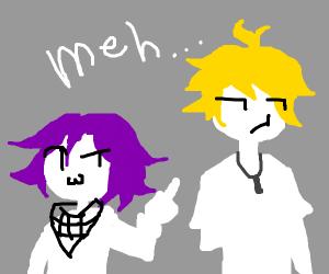 Kokichi and Amami