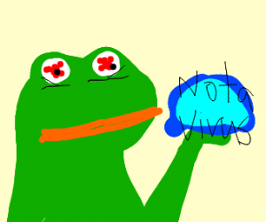 cursed pepe image gives you a virus