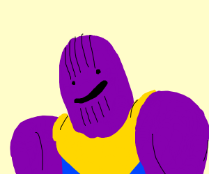 Ditto as Thanos