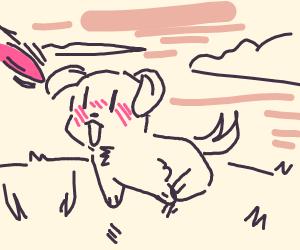 HAPPY PUPPER :D