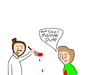 Post Malone kills Shaggy