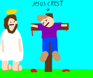 They nailed the wrong jesus to the cross