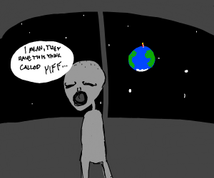 Alien thinks something on Earth is off