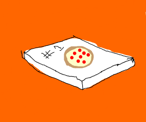 Box of pizza