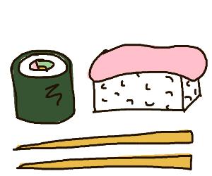 Some sushi