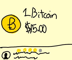 Bitcoin sold on amazon