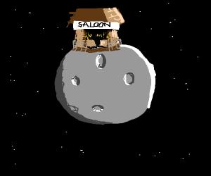 Saloon on the moon